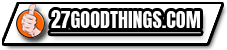 27 good things logo