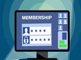 create a member ship site