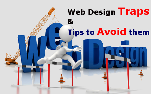 web design traps and how to avoid