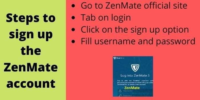 Zenmate VPN Account